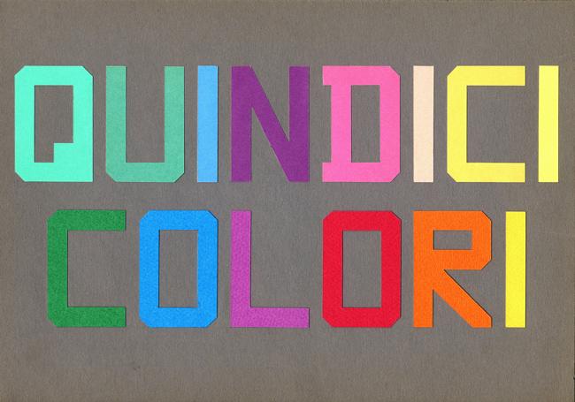 15 colori di aldo spinelli